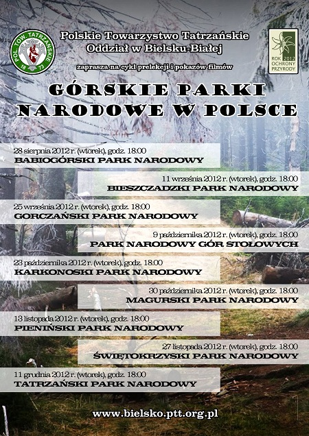 Pieniński Park Narodowy Cykl Pt Górskie Parki Narodowe W
