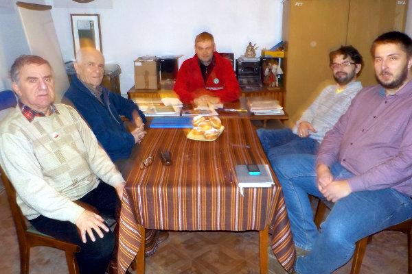spotkanie odbyło się w kameralnym gronie