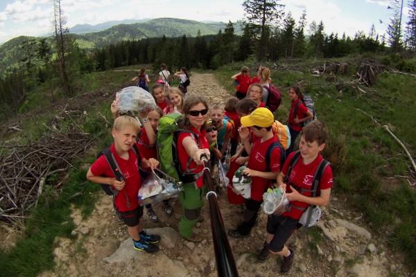 Wichurzanie na szczycie Bendoszki Wielkiej