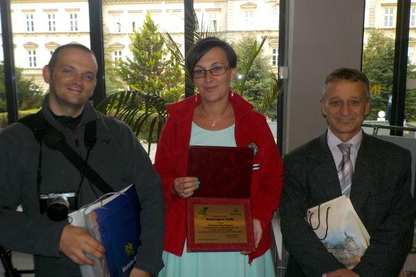 od lewej: Sebastian Nikiel, Katarzyna Talik i Grzegorz Holerek